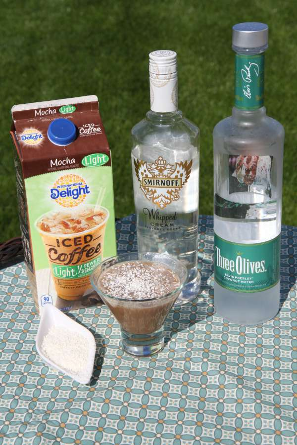 Whipped Coconut Mocha Martini Ingredients