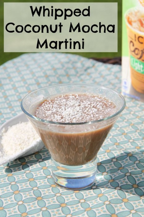 Whipped Coconut Mocha Martini Recipe