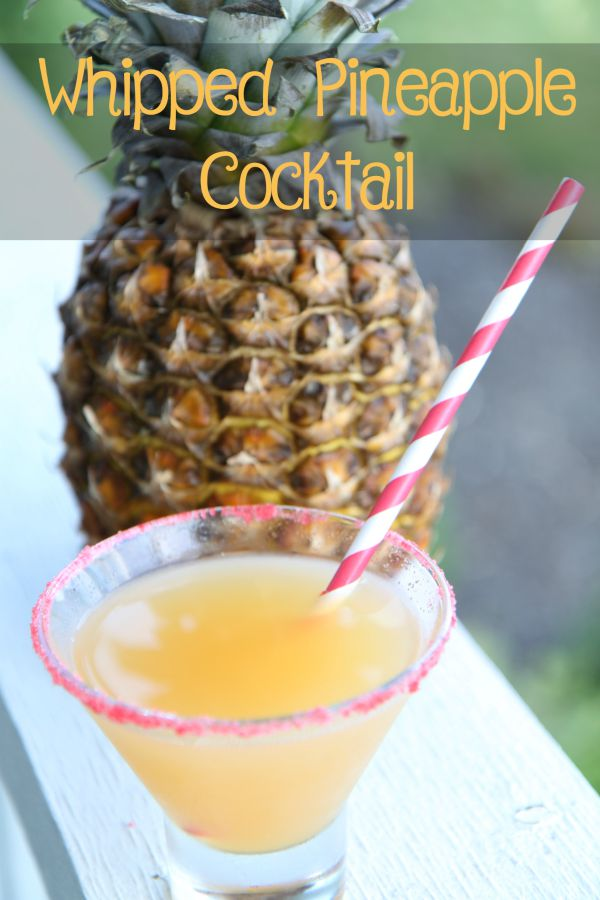 Whipped Pineapple Cocktail