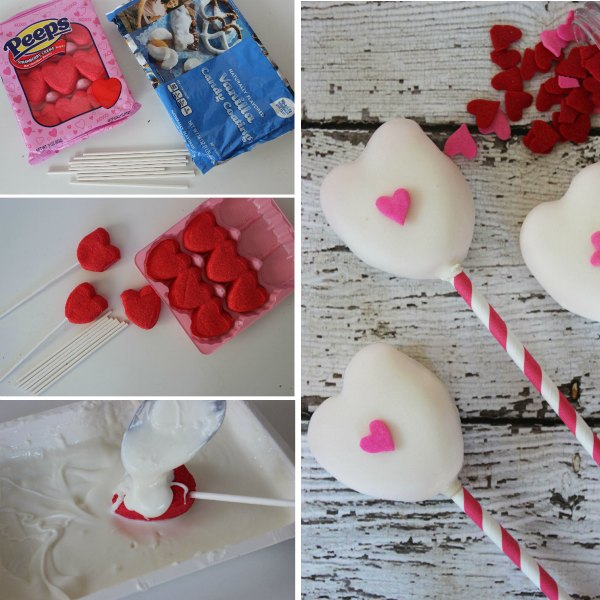 White Chocolate Peeps Pops - Non Cake Alternative