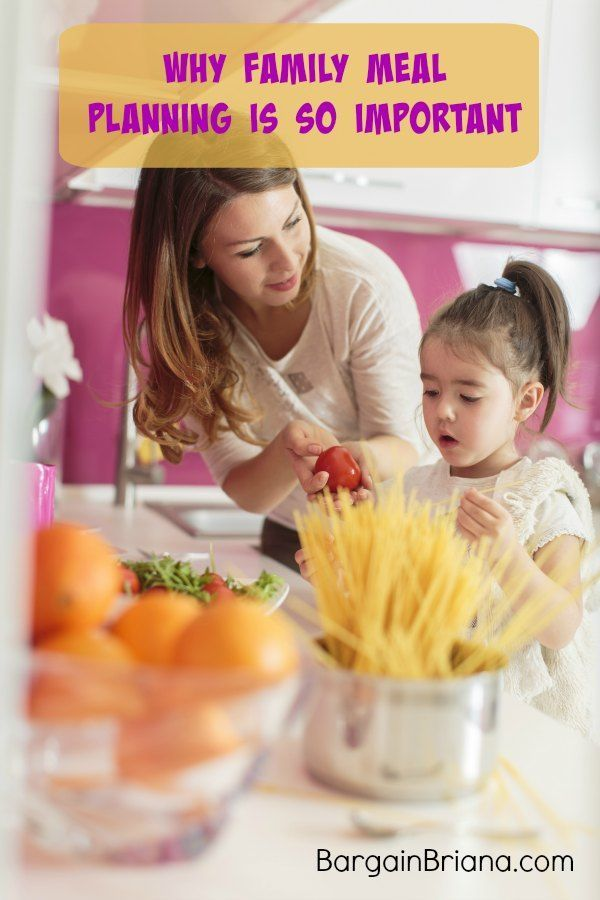 Why Family Meal Planning Is So Important