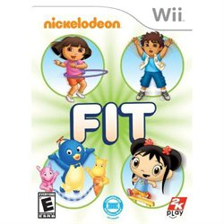 Nickelodeon Fit for Wii Game $28.99