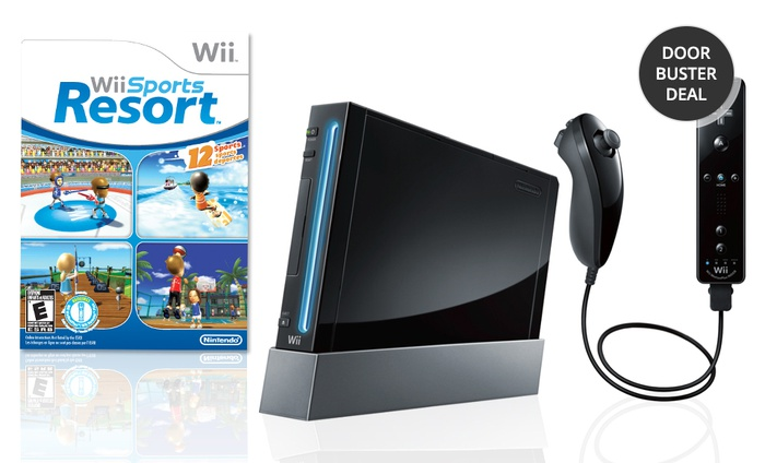 Wii Resort Bundle