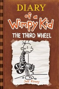 "Amazon: Pre-Order Diary of a Wimpy Kid ""The Third Wheel"" $7.75"