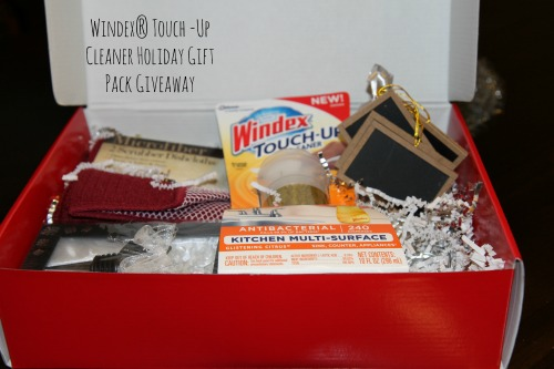 Windex Touch Up Giveaway Windex® Touch  Up Cleaner Holiday Gift Pack Giveaway