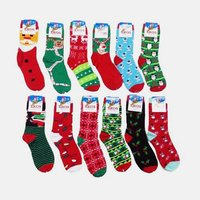 Women's 6 Pairs Christmas Style Assorted Socks