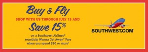 World Market Southwest 300x106 World Market: 15% off Southwest Airlines Promotion