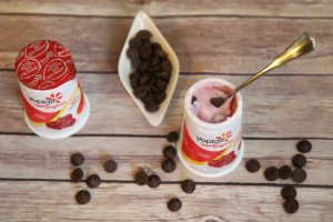 Yoplait 1-Up Your Cup Recipe: Chocolate Cherry