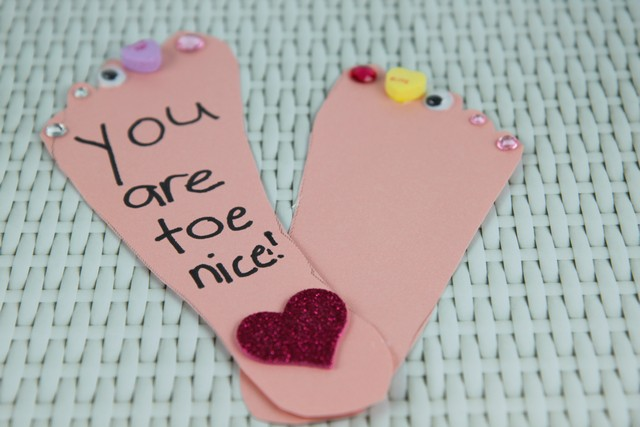 You are Toe Nice Card
