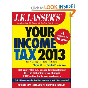Your Income Tax 2013