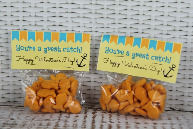 You're a Great Catch Free Printable Valentines Day Idea