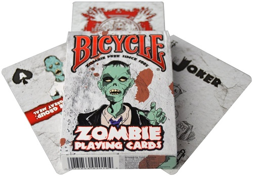 Zombie Playing Cards