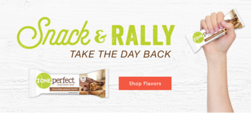 ZonePerfect Snack and rally