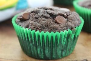Zucchini Double Chocolate Muffins Recipe