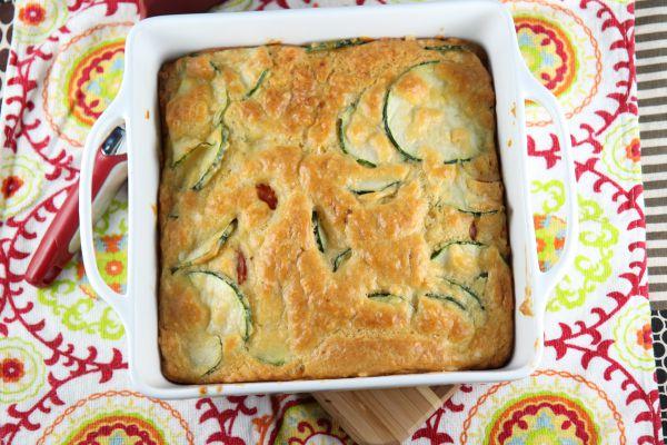 Zucchini and Tomato Pie