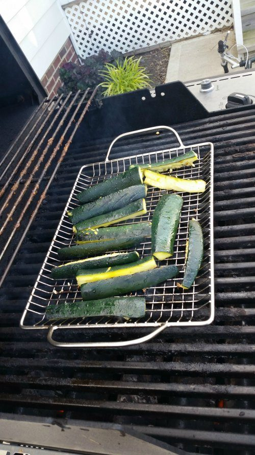Zucchini on Grill