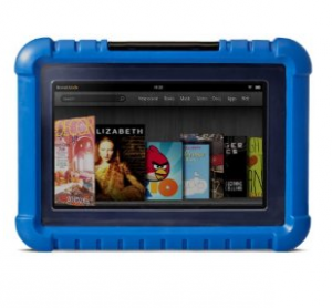 amazon kindle Hot Deal: Kindle Fire 7″ LCD + Fisher Price Kid Tough Case $139 (Amazon Mom & Prime Members)