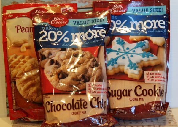 betty crocker Cookie mixes