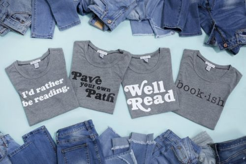 I'd Rather Be Reading Shirts – $16.95 shipped!