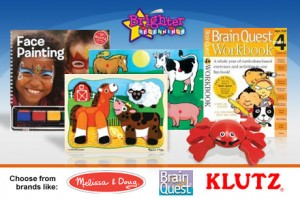 brighter beginnings 300x198 $15 for $35 Worth of Melissa & Doug, Brain Quest, and Klutz or Other Educational Toys