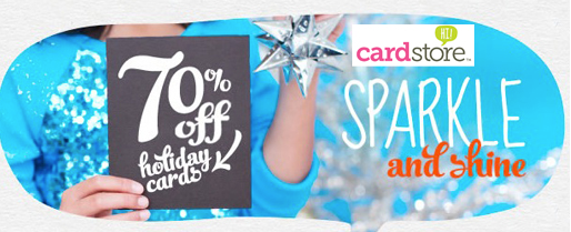 Cardstore.com: 70% off Holiday Cards & Invites