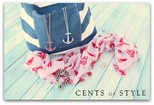 cents of style natuatical theme