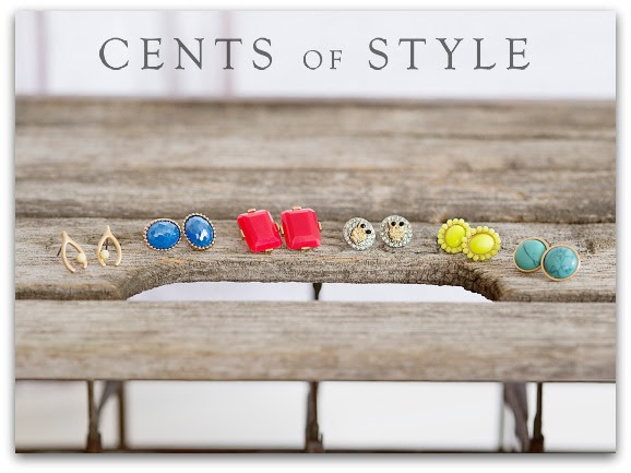 cents of style stud earrings blowout