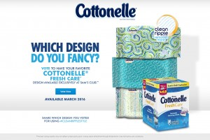 Vote For Your Favorite Cottonelle® Fresh Care* Design + $50 Sam's Club Gift Card Giveaway (5 Winners!)