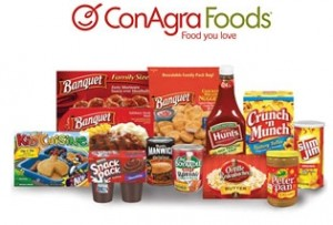 conagra food examples 300x203 Mail in Rebate: $25 in ConAgra Coupons