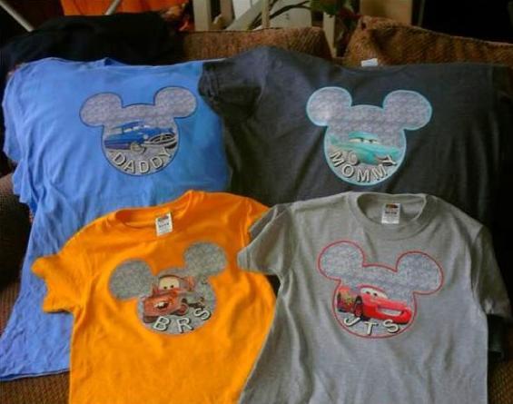 DIY: Disney Iron On Shirts - BargainBriana