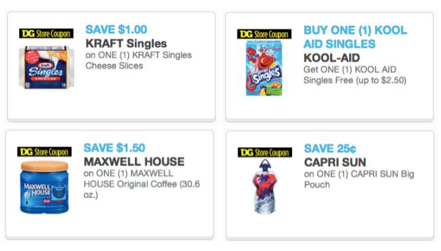 Dollar store coupons