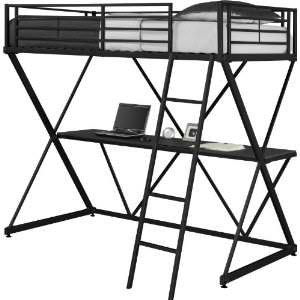 dorel loft bed Amazon: Dorel Home Products X Loft Bunk Bed $149 (Shipped)