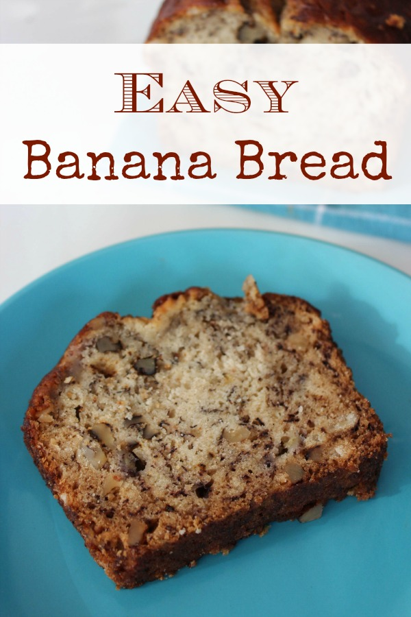 Easy Banana Bread Recipe - BargainBriana