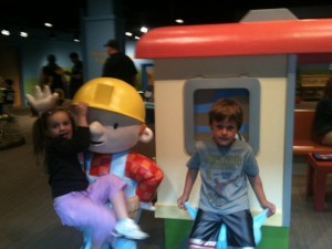eli sofia childrens musuem 300x225 Indianapolis Children's Museum: B1G1 FREE Coupons