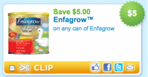 enfagrow 300x157 New $5 Enfagrow Printable Coupon