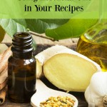 essential oil cooking