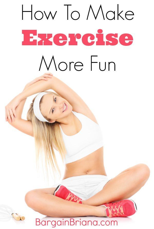 exercise more fun