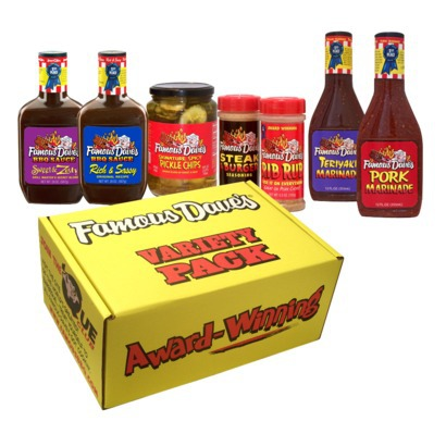 famous Daves Variety Pack