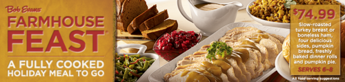 Bob Evans Farmhouse Feast: Fully Cooked Meal To Go