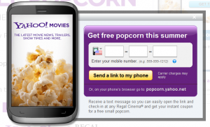 Regal Cinemas: Free Small Popcorn via Text Message
