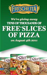 freschetta Facebook Freebie: Freschetta Pizza by the Slice