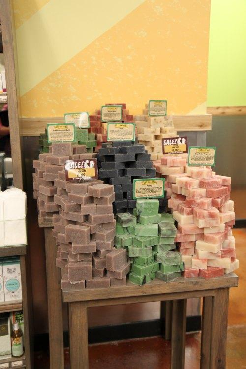 handmade soap fresh thyme