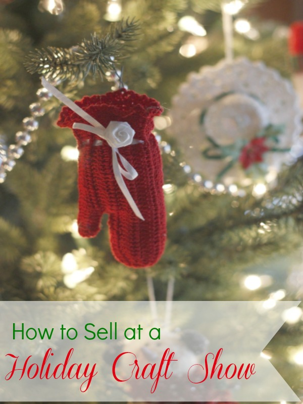 How to sell at a holiday craft show bargainbriana for Christmas crafts for kids to sell