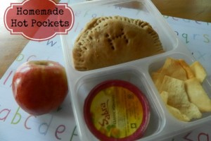 {Freezer to Lunchbox Series} Homemade Hot Pockets