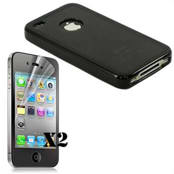 Buy.com: iPhone 4 Hybrid Case + 2 Screen Protectors $5.12 (Shipped)