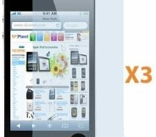 Amazon: iPhone4 Screen Protectors and Lint Cloth (3-Pack) $0.70