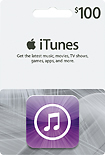 iTunes3 $100 iTunes Gift Card for $80 Shipped