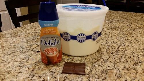 ice cream treat ingredients