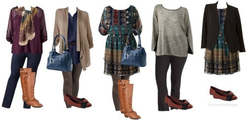 kohls fashion plus size budget ideas