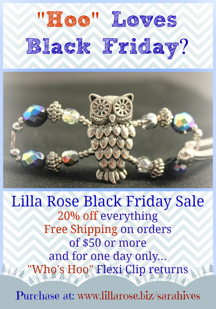 Lilla Rose: 20% Off *Black Friday Deal Only*